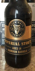 Imperial Stout Aged In Bourbon Barrels