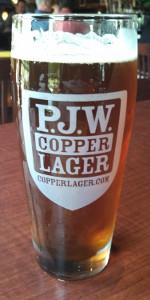 P.J.W. Copper Lager