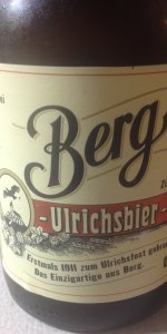 Berg Ulrichsbier