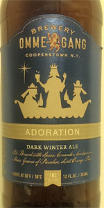 Adoration Dark Winter Ale