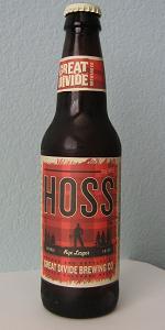 Hoss Rye Lager
