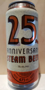 25th Anniversary Steam Beer
