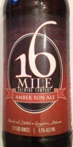 Amber Sun Ale