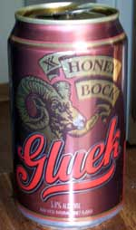 Gluek Honey Bock