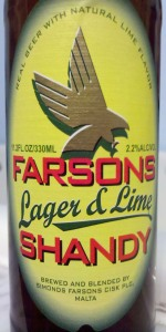 Lager & Lime Shandy