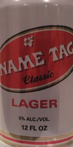 Name Tag Lager