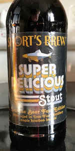 Super Delicious Stout: Extreme Beer Fest Edition