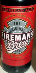 Fireman's Brew Redhead Ale