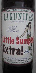 A Little Sumpin' Extra! Ale