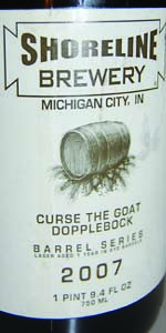 Big Bourbon Series Curse The Goat Dopplebock On Rye