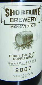 Big Bourbon Series Curse The Goat Dopplebock On Rye
