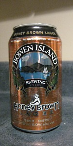 Bowen Island Honey Brown Lager