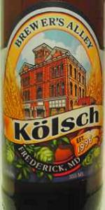 Brewer's Alley Kölsch