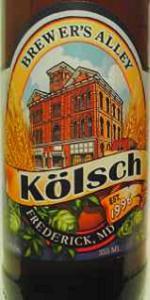 Brewer's Alley Kölsch