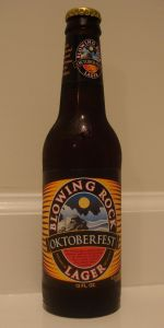 Blowing Rock Oktoberfest Lager