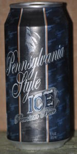 Pennsylvania Style Ice Premium Beer