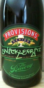 Provisions Series: Snickelfritz