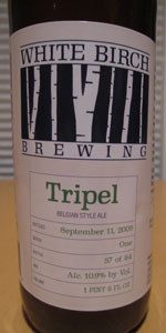 White Birch Tripel