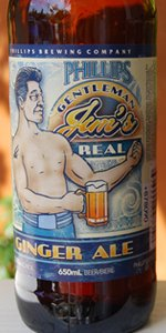 Gentleman Jim's Real Ginger Ale