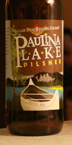 Paulina Lake Pilsner