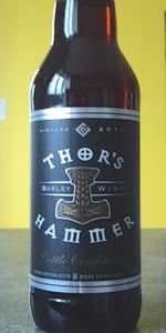 Thor's Hammer Barley Wine