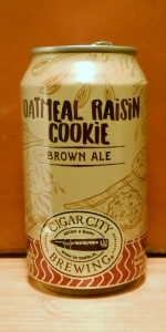 Oatmeal Raisin Cookie Brown Ale