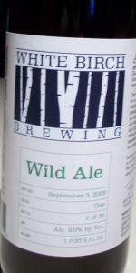 White Birch Wild Ale