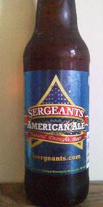 Sergeants American Ale