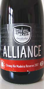 Alliance Madeira Reserve 2007