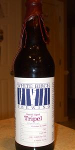 White Birch Barrel Aged Tripel