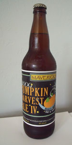 Mavericks 2009 Pumpkin Harvest Ale IV
