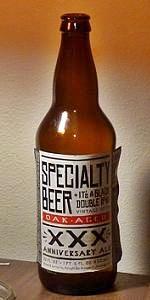 Oak Aged Specialty Beer XXX