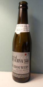 De Dolle Oerbier Special Reserva 2008 (Bottled 2009)