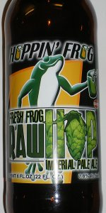 Fresh Frog Raw Hop Imperial Pale Ale