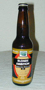 Blond Ambition Belgian Style Blonde Ale