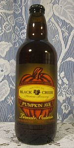 Black Creek Pumpkin Ale