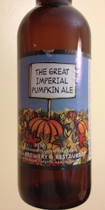 The Great Imperial Pumpkin Ale