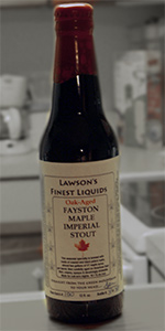 Fayston Maple Imperial Stout - Oak-Aged
