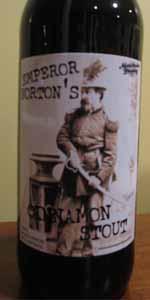 Emperor Norton's Cinnamon Stout