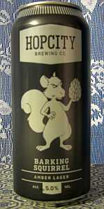 Barking Squirrel Lager
