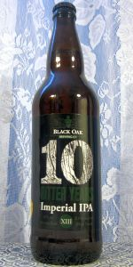 Black Oak Ten Bitter Years