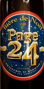 Page 24 Bière De Noël