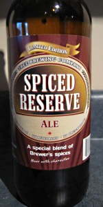 Spiced Reserve Ale