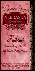 Fathead Barleywine - Reserve Series Aged In Whiskey Barrels