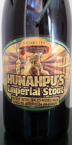 Hunahpu S Imperial Stout Bourbon Barrel Aged Cigar City Brewing Beeradvocate