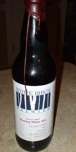 White Birch Barrel Aged Barley Wine