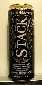 Stack 101 High Gravity Smooth Lager