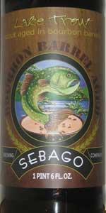 Bourbon Barrel Aged Lake Trout Stout