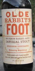 Olde Rabbit's Foot Bourbon Barrel-Aged Imperial Stout (2009)
