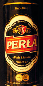 Perla Malt Liquor